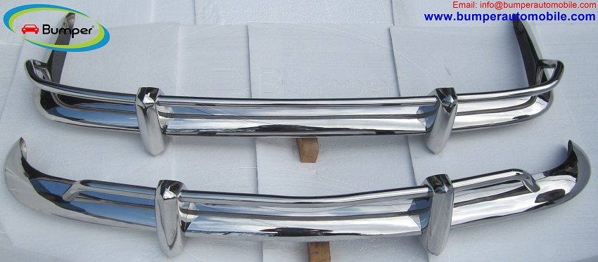 VW Karmann Ghia US type bumper (1955 – 1966) stainless steel