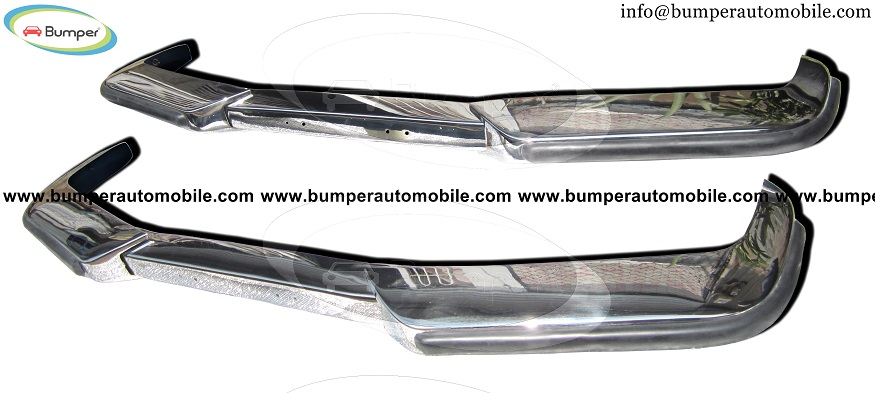 Volvo P1800ES bumper kit (1963-1973) stainless steel