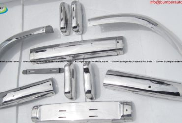 Volvo PV 544 Euro type bumper (1958-1965) stainless steel