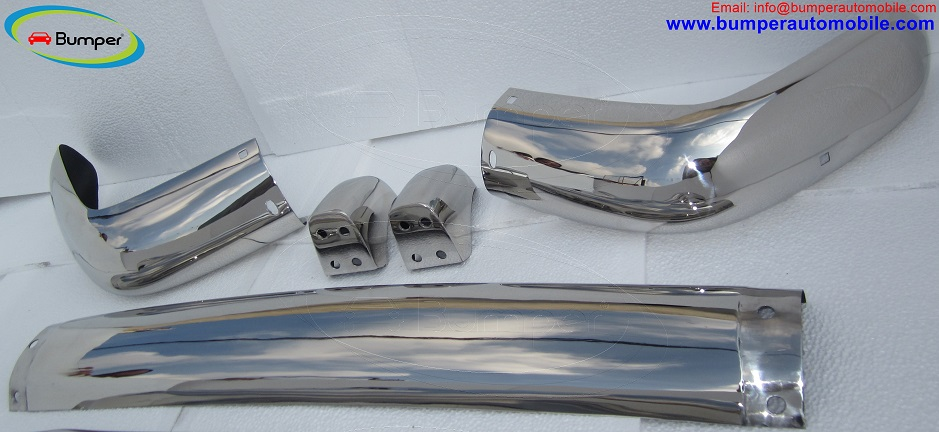 Volvo Amazon Kombi bumper (1962-1969) in stainless steel
