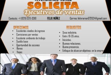 SOLICITAMOS PERSONAL DE INMEDIATO